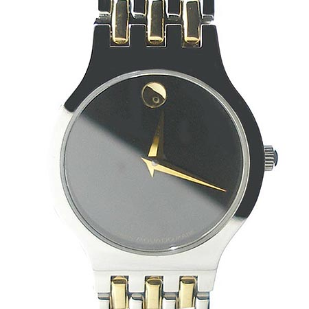MOVADO (모바도) AMOROSA 금장 콤비 여성용 시계 [강남본점]