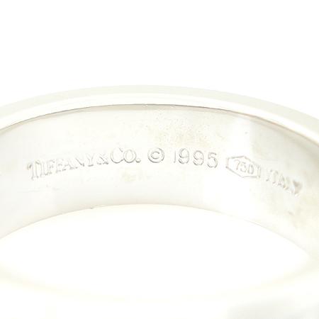 Tiffany(티파니) 18K 화이트골드 아틀라스 3포인트 다이아 반지 [강남본점] 이미지2 - 고이비토 중고명품