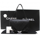 Chanel(샤넬) A36449Y04683 램스킨 블랙 퀼팅 은장로고 숄더백 [대구황금점]