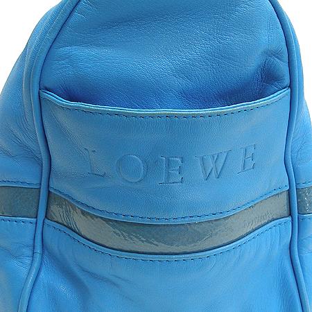 Loewe(로에베) 램스킨 블루 측면 로고 스탬핑 토트백 [강남본점]