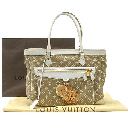 Louis Vuitton(루이비통) M93793 모노그램 카바스 GM 사비아 화이트 숄더백 [부산센텀본점] 이미지2 - 고이비토 중고명품
