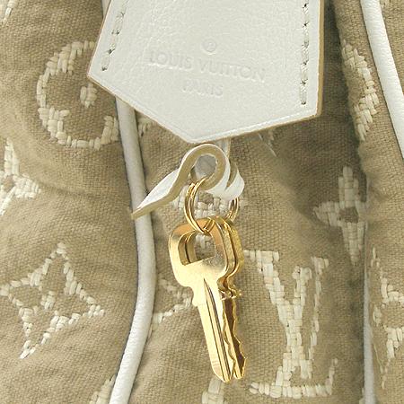 Louis Vuitton(루이비통) M93793 모노그램 카바스 GM 사비아 화이트 숄더백 [부산센텀본점] 이미지5 - 고이비토 중고명품