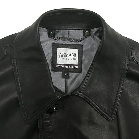 Armani COLLEZIONI(아르마니 꼴레지오니) 양가죽 코트(벨트SET)