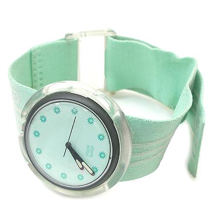 swatch(스와치) 라운드 밴드형 시계 이미지2 - 고이비토 중고명품