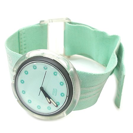 swatch(스와치) 라운드 밴드형 시계