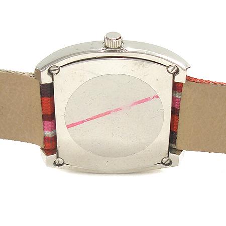 FOLLI FOLLI(폴리폴리) 스틸 사각 프레임 패브릭 스트랩 여성용 시계 이미지4 - 고이비토 중고명품