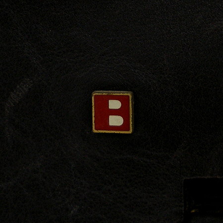 Bally(발리) 블랙 래더 숄더백