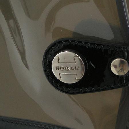 HOGAN(호간) 투포켓 PVC 토트백