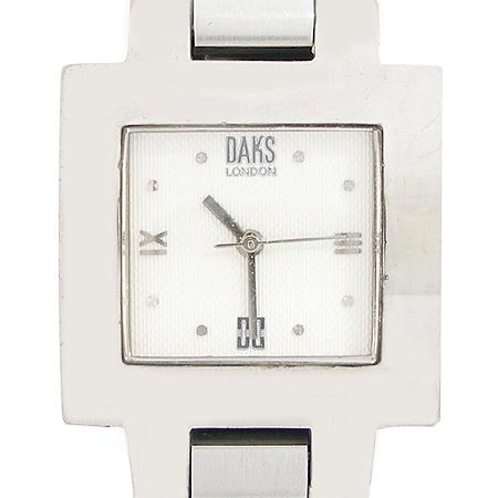 DAKS(닥스) DS020 사각 프레임 스틸 시계