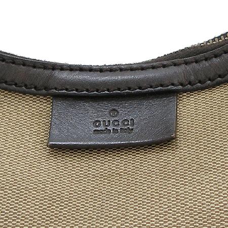 Gucci(구찌) 106669 패브릭 삼색 스티치 숄더백 이미지4 - 고이비토 중고명품