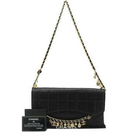Chanel(샤넬) 발렌타인 램스킨 참장식 금장체인 숄더백 이미지2 - 고이비토 중고명품