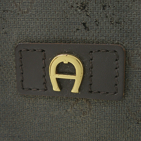 Aigner(아이그너) 로고 PVC 토트백