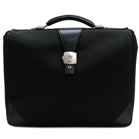 Dunhill(던힐) 블랙 패브릭 남성용 서류 가방