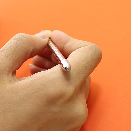 Louis Vuitton(루이비통) N75004 실버 아젠다 볼 포인트 볼펜