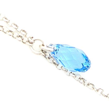 CLIO BLUE(클리오블루) 925 (실버) 장식 목걸이