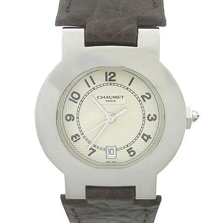 CHAUMET(쇼메) acier 가죽밴드 남여공용 시계