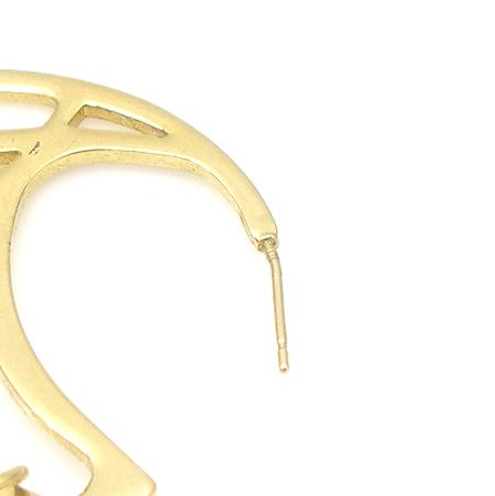 Swarovski(스와로브스키) 큐빅 장식 금장 귀걸이 [강남본점] 이미지4 - 고이비토 중고명품