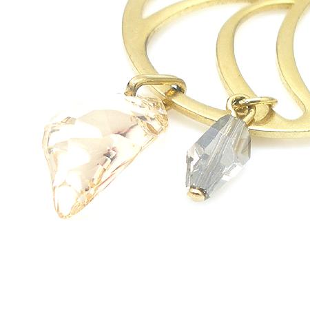 Swarovski(스와로브스키) 큐빅 장식 금장 귀걸이 [강남본점] 이미지5 - 고이비토 중고명품