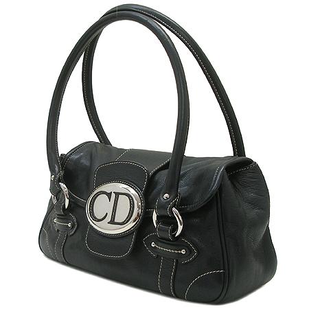 Dior(크리스챤디올) CPA44433 블랙 래더 토트백