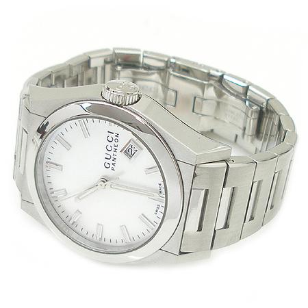 Gucci(구찌) YA115402 PANTHEON 자개판 스틸 남녀공용 시계 이미지3 - 고이비토 중고명품