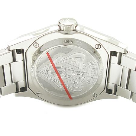 Gucci(구찌) YA115402 PANTHEON 자개판 스틸 남녀공용 시계 이미지5 - 고이비토 중고명품