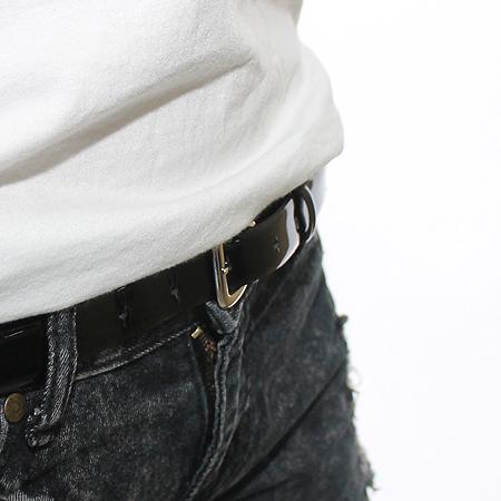 D&G(돌체&가바나) 은장 버클 에나멜 벨트 이미지7 - 고이비토 중고명품