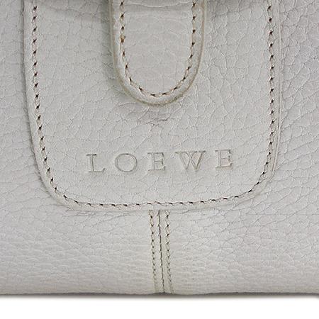 Loewe(로에베) 화이트 래더 크로스백