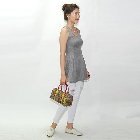 Dior(크리스챤디올) PVC 3색 보스톤 토트백