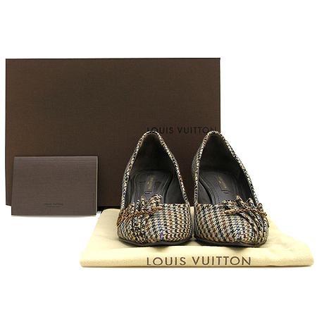Louis Vuitton(루이비통) 패브릭 트위드 펌프스 여성용 구두