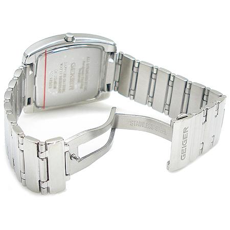 GEIGER(가이거) GE-200901M 자개판 크로노 남성용 스틸 시계