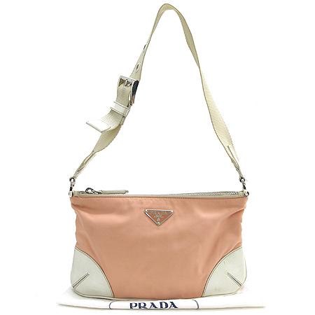 Prada(프라다) 래더 스티치 패브릭 숄더백 [강남본점] 이미지2 - 고이비토 중고명품