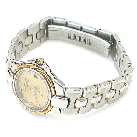 FAVRE LEUBA(파브레 뤼바) 11포인트 다이아 18K 콤비 베젤 라운드 스틸 여성용 시계 [강남본점] 이미지2 - 고이비토 중고명품