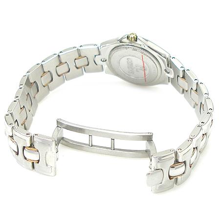 FAVRE LEUBA(파브레 뤼바) 11포인트 다이아 18K 콤비 베젤 라운드 스틸 여성용 시계 [강남본점]