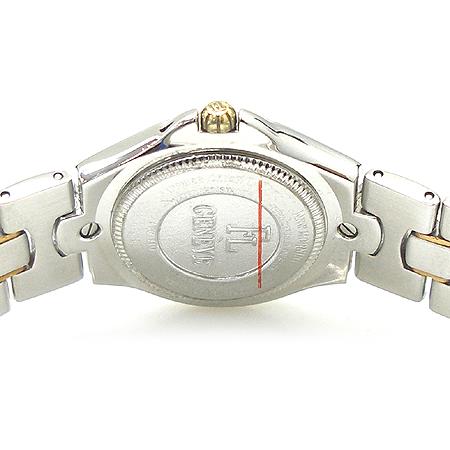 FAVRE LEUBA(파브레 뤼바) 11포인트 다이아 18K 콤비 베젤 라운드 스틸 여성용 시계 [강남본점] 이미지4 - 고이비토 중고명품