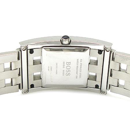 Hugo Boss(휴고보스) 베젤 다이아 스퀘어 스틸 여성용 시계 이미지5 - 고이비토 중고명품