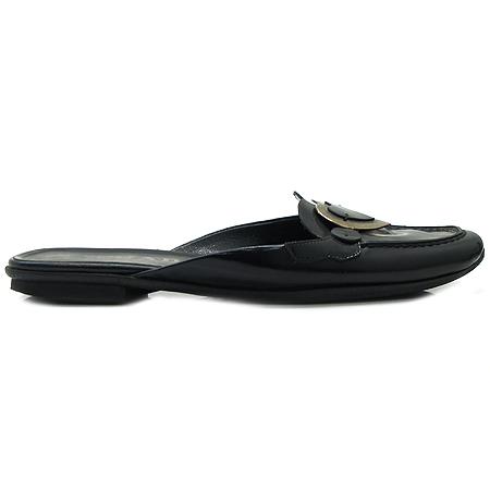 Prada(프라다) 하트 장식 블랙 컬러 여성용 슬리퍼