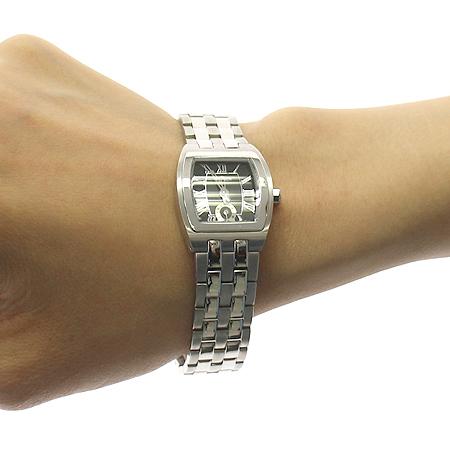 GEIGER(가이거) 은장 스틸 밴드 쿼츠 시계