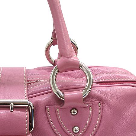 Marc_Jacobs (마크 제이콥스) 투 포켓 핑크 레더 베네치아 토트백