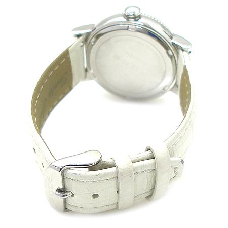 FOCE(포체) F295GSW 원형 가죽 밴드 쿼츠 시계