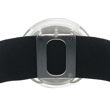 swatch(스와치) 원형 팬던트 패브릭 밴드 시계