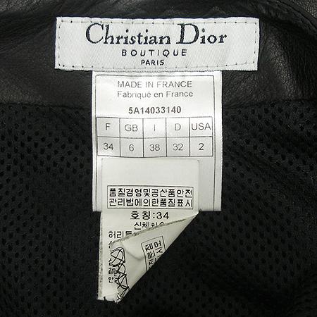 Dior(크리스챤디올) 가죽 스커트 (양가죽100) 이미지4 - 고이비토 중고명품