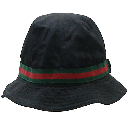 Gucci(구찌) 패브릭 삼색 스티치 벙거지 모자