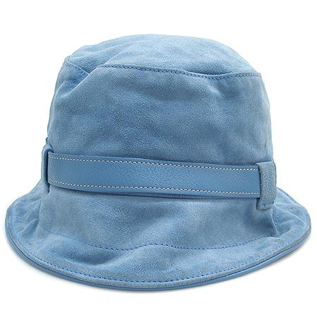 Coach(코치) 스카이 컬러 스웨이드 벙거지 모자 이미지2 - 고이비토 중고명품