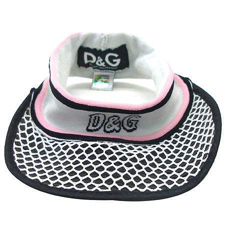 D&G(돌체&가바나) 로고 장식 썬캡