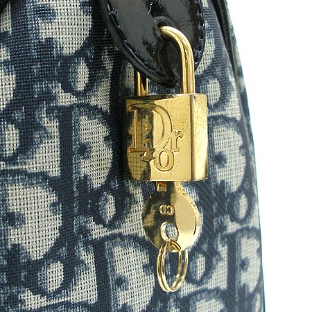 Dior(크리스챤디올) CPD44009. 빈티지 로고 PVC 보스톤 토트백