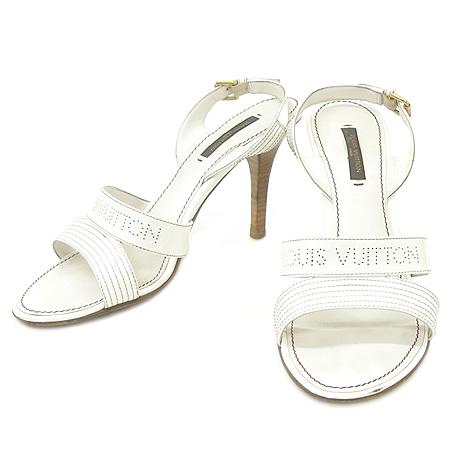 Louis Vuitton(루이비통) 845370 로고 에나멜 오픈토 여성용 샌들 [동대문점]