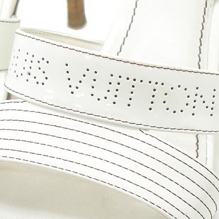 Louis Vuitton(루이비통) 845370 로고 에나멜 오픈토 여성용 샌들 [동대문점] 이미지5 - 고이비토 중고명품