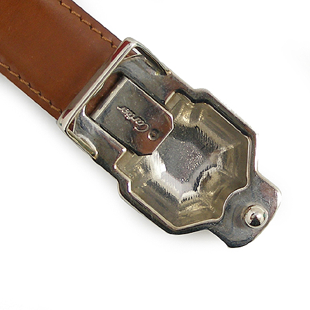 Cartier(까르띠에) L5000122 팬더 은장 버클 가죽 양면 벨트