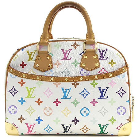 Louis Vuitton(루이비통) M92663 모노그램 멀티 컬러 화이트 트루빌 토트백