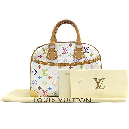 Louis Vuitton(루이비통) M92663 모노그램 멀티 컬러 화이트 트루빌 토트백 이미지2 - 고이비토 중고명품